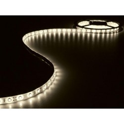 KIT WITH FLEXIBLE LED STRIP AND POWER SUPPLY - WARM WHITE - 180 LEDs - 3m - 12Vdc