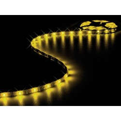 FLEXIBLE LED STRIP - YELLOW AMBER - 150 LEDs - 5m