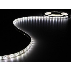KIT WITH FLEXIBLE LED STRIP AND POWER SUPPLY - WHITE - 300 LEDs - 5m