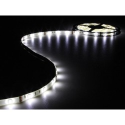 FLEXIBLE LED STRIP - COLD WHITE - 150 LEDs - 5m - 12V