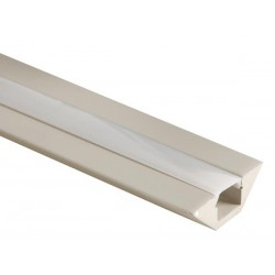 MDF LED PROFILE FOR LED STRIPS  - 45° - 1M