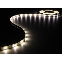 KIT WITH FLEXIBLE LED STRIP AND POWER SUPPLY - WARM WHITE - 150 LED - 5m