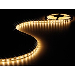 FLEXIBLE LED STRIP - WARM WHITE - 300 LEDs - 5m - 24V