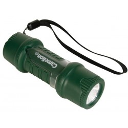 WATER- AND SHOCK-RESISTANT TORCH WITH EXTRA BRIGHT WHITE LED - 40lm