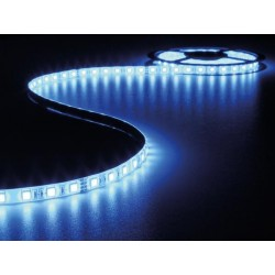 FLEXIBLE LED STRIP - BLUE - 300 LEDs - 5m - 24V