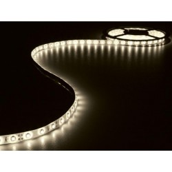 KIT WITH FLEXIBLE LED STRIP AND POWER SUPPLY - WARM WHITE - 300 LED - 5m