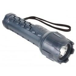 1 WATT CREE-LED RUBBER TORCH - 70lm