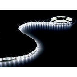 FLEXIBLE LED STRIP - COLD WHITE - 300 LEDs - 5m - 12V