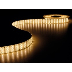 FLEXIBLE TRIPLE LED STRIP - WARM WHITE - 900 LED - 5m - 12Vdc