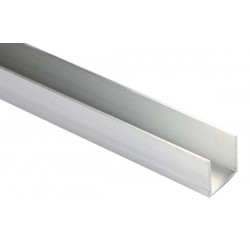 ALUMINIUM LED PROFILE FOR LED STRIPS - U-TYPE - 2M