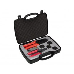 COAX TOOL SET, CRIMPING, CUTTING & STRIPPING TOOL
