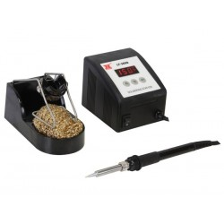 SOLDERING STATION 60W/230V WITH VARIABLE TEMPERATURE & CERAMIC HEATER