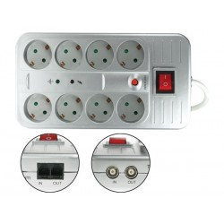 NET POWER BLOCK - GERMAN TYPE PLUG WITH ELECTRONIC  PROTECTIONS