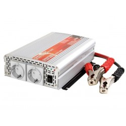 MODIFIED SINE WAVE POWER INVERTER 1000W 12VDC IN / 230VAC OUT - 'Soft-Start'