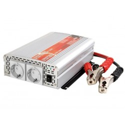 MODIFIED SINE WAVE POWER INVERTER 1000W 24VDC IN / 230VAC OUT - 'Soft-Start'