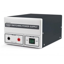 FIXED SWITCHING MODE POWER SUPPLY 13.8 VDC / 20 A