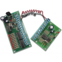 10-CHANNEL, 2-WIRE REMOTE CONTROL