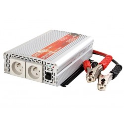 MODIFIED SINE WAVE POWER INVERTER 1000W 12VDC IN / 230VAC OUT - PIN EARTH - 'Soft-Start'