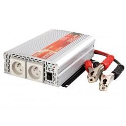 MODIFIED SINE WAVE POWER INVERTER 1000W 24VDC IN / 230VAC OUT - PIN EARTH - 'Soft-Start'