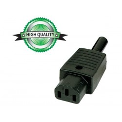AC CONNECTOR FEMALE, CABLE-MOUNT TYPE -10A
