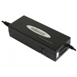 UNIVERSAL SWITCHING MODE REGULATED ADAPTER - OUTPUT: 15 TO 24VDC + 5V USB OUTPUT - 120W