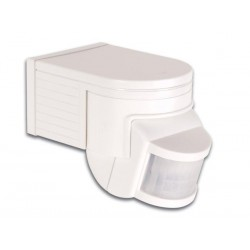 PIR MOTION DETECTOR - WHITE