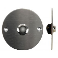 DOORBELL PUSH BUTTON IN STAINLESS STEEL - NO