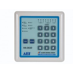 AUXILIARY CONTROL KEYPAD FOR ALARM CONTROL PANEL- WEATHER-RESISTANT