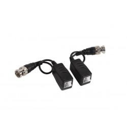 VIDEO BALUN WITH PUSH-PIN TERMINAL AND BNC CABLE - PAIR