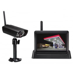 WIRELESS TOUCH-SCREEN SECURITY SYSTEM WITH RECORDING AND NETWORK