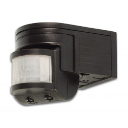 PIR MOTION DETECTOR - BLACK