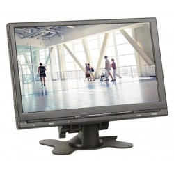 "9"" DIGITAL TFT-LCD MONITOR WITH REMOTE CONTROL - 16:9 / 4:3"