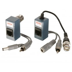 VIDEO/AUDIO/POWER BALUN - PAIR
