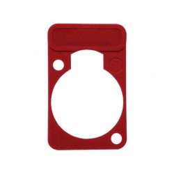 NEUTRIK - LETTERING PLATE FOR D-CONNECTORS - RED