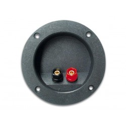 LOUDSPEAKER CONNECTION TERMINAL - ROUND - GOLD