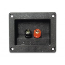 LOUDSPEAKER CONNECTION TERMINAL - RECTANGULAR - NICKEL