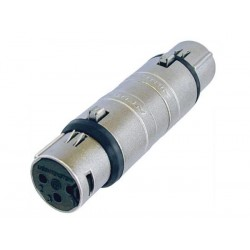 3-POLE XLR FEMALE TO 3-POLE XLR FEMALE