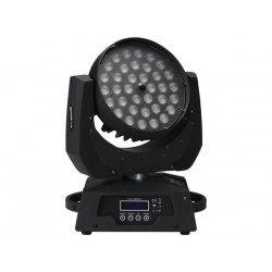 ARAS 3615 - LED MOVING HEAD 36 x 15 W RGBWA WITH ZOOM