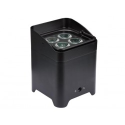 FREELED 44B - 4 x 8 W RGBW WIRELESS DMX-CONTROLLED - BATTERY-POWERED