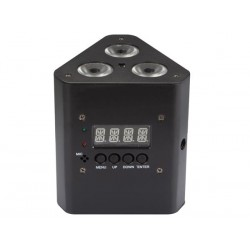 TRUSSLED 33B - 3 x 3 W RGB WITH DMX CONTROL - BATTERY POWERED