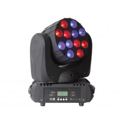 EXPLIO III - 12 x 10 W RGBW LED MOVING HEAD