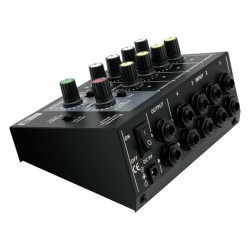 4 CHANNEL MICROPHONE MIXER
