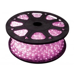 PINK LED ROPE LIGHT - 45m
