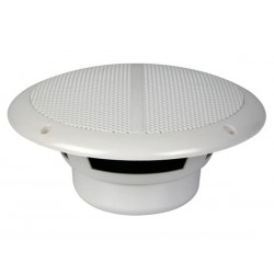 "DUAL 6.5"" WATER-RESISTANT CONE SPEAKER SET WITH GRIDS 120W / 8 OHM (1 PAIR)"