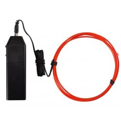 PORTABLE EL WIRE SET, 1.5m, RED