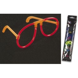 LIGHT STICK GLASSES Ø0.5 x 20cm - RED