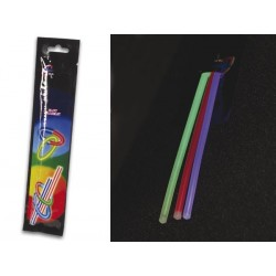 LIGHT STICK PACK Ø0.5 x 20cm - MIXED COLOURS (3 pcs/PACK)