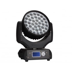 ARAS 3710 - 37 x 10 W RGBW LED WASH MOVING HEAD