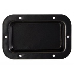 TERMINAL BOARD, BLACK METAL, 89 x 136mm NO HOLES