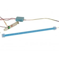 BLINKING LED BAR KIT FOR PC TUNING - BLUE